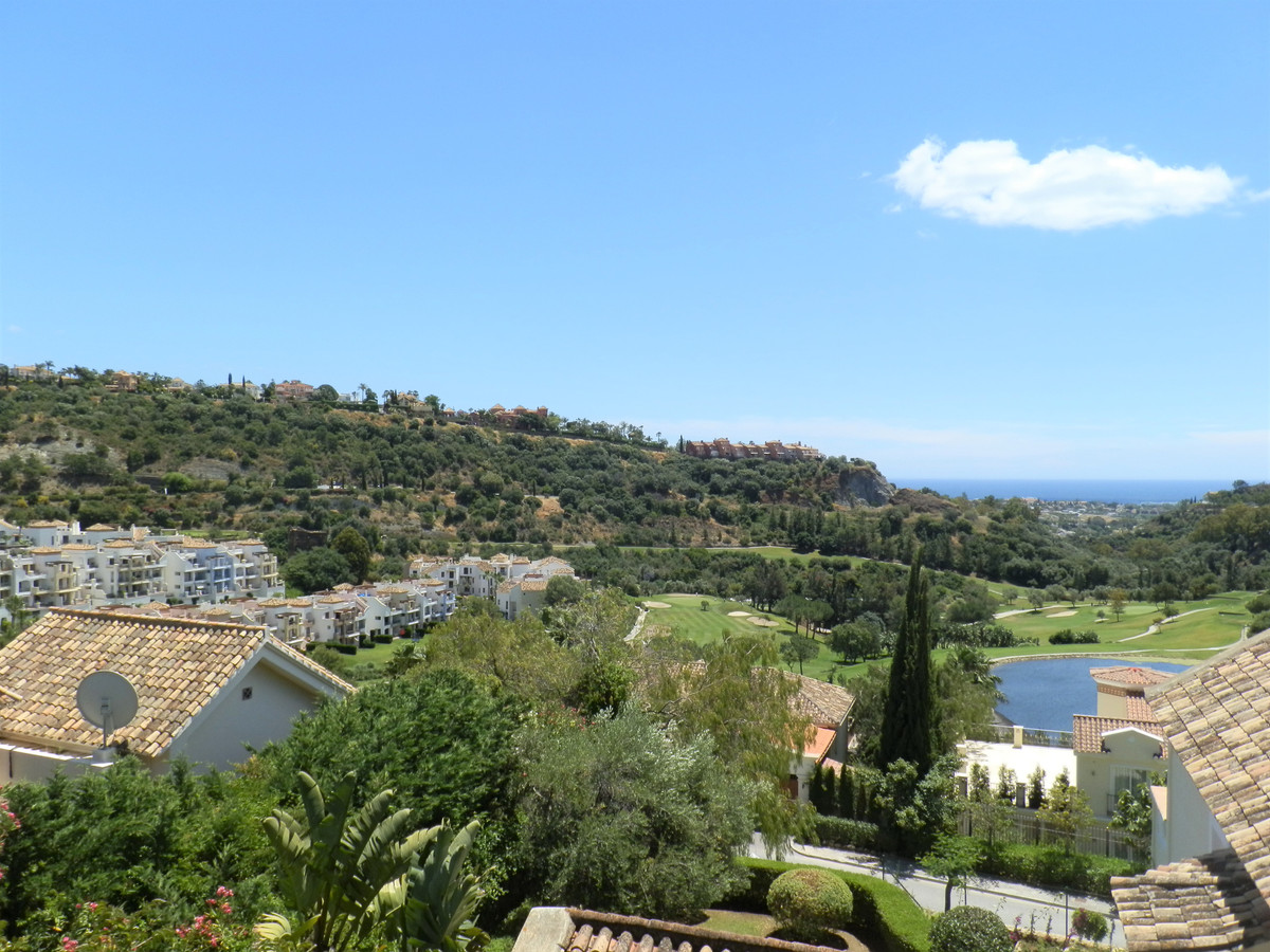 A beautiful elevated 6 bedroom villa with unobstructed views over Los Arqueros golf course and ocean, Spain