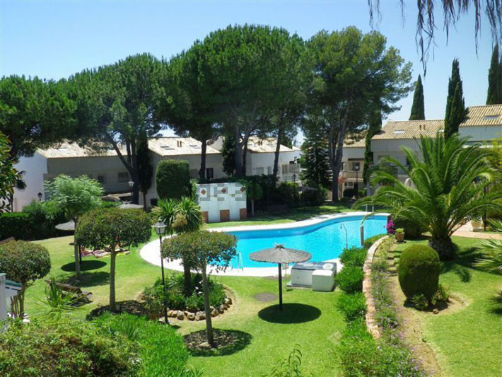 Townhouse located in Nagules, great location just off the N340, close to all amenities of Marbella a,Spain