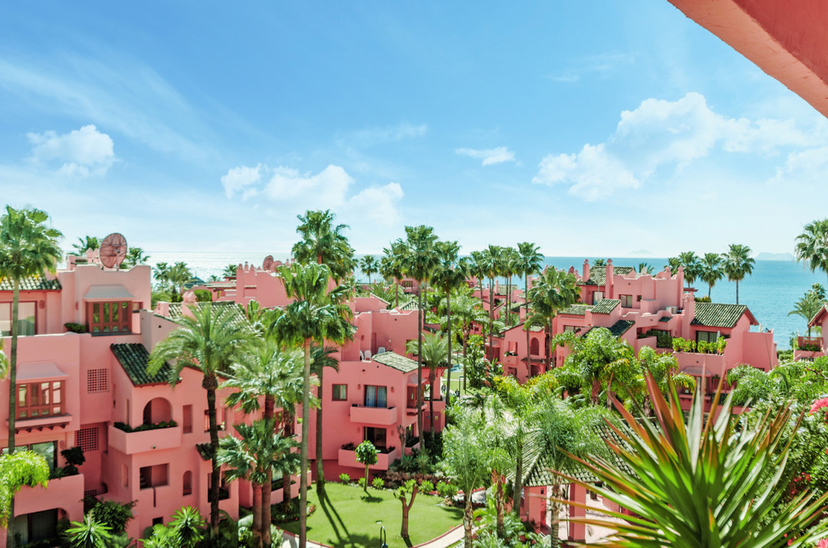 Las Salinas is a luxury development built in a crescent-shaped architectural design, facing south gi,Spain