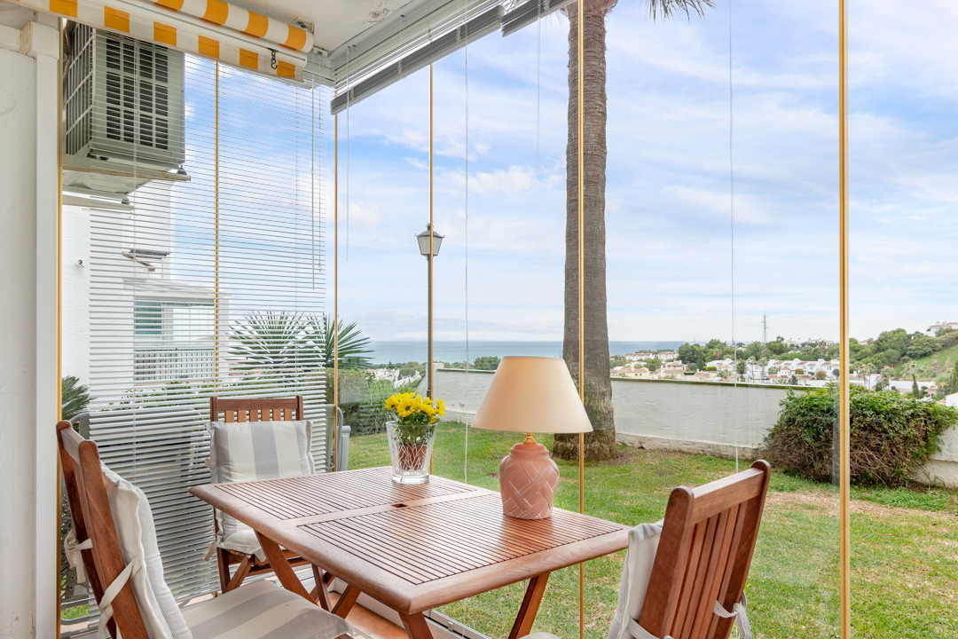 Lovely ground floor apartment with sea views from Calahonda!  The apartment is located in the area o, Spain