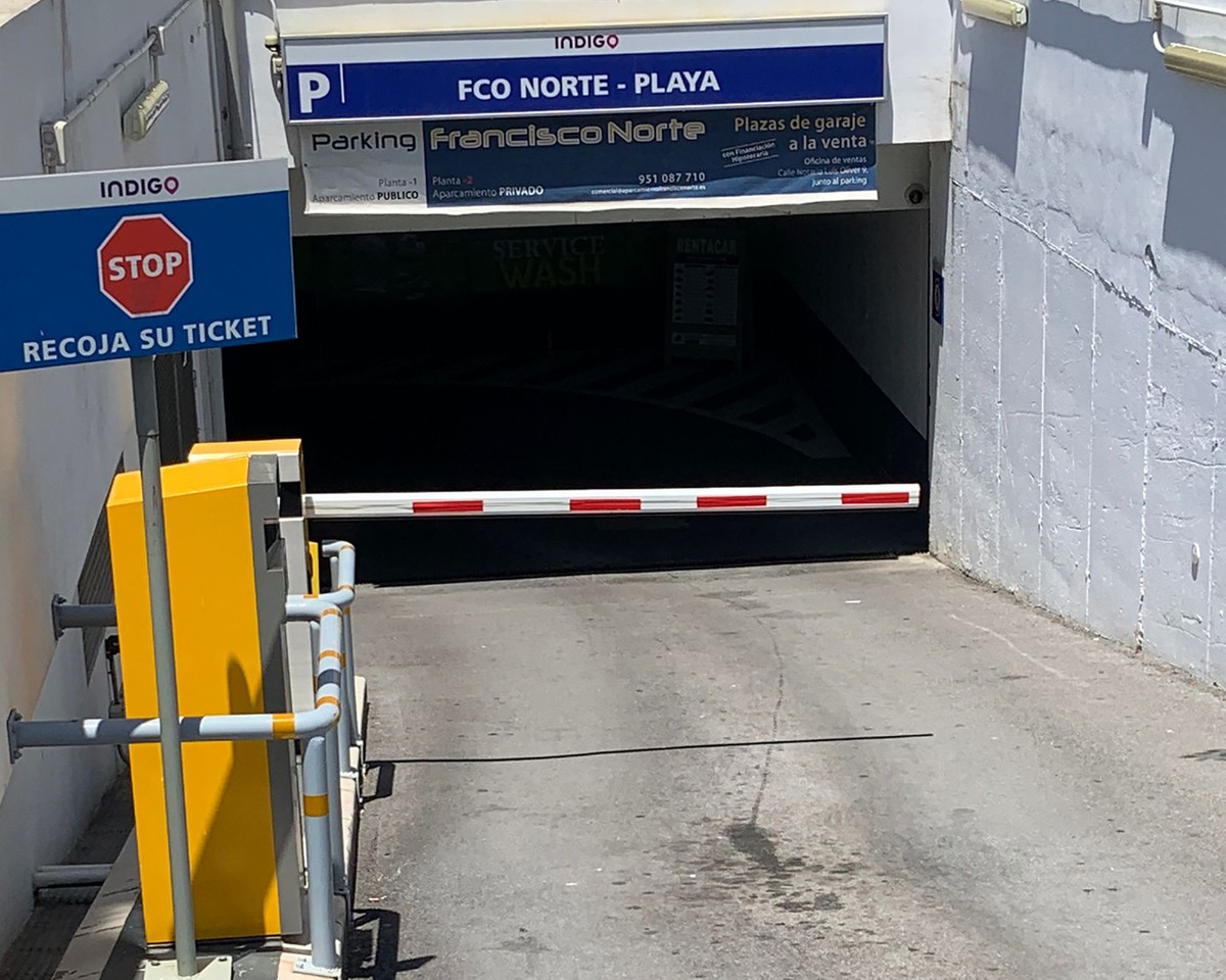 Parking space for sale in Marbella city centre  Underground parking space for sale in Plaza Francisc,Spain