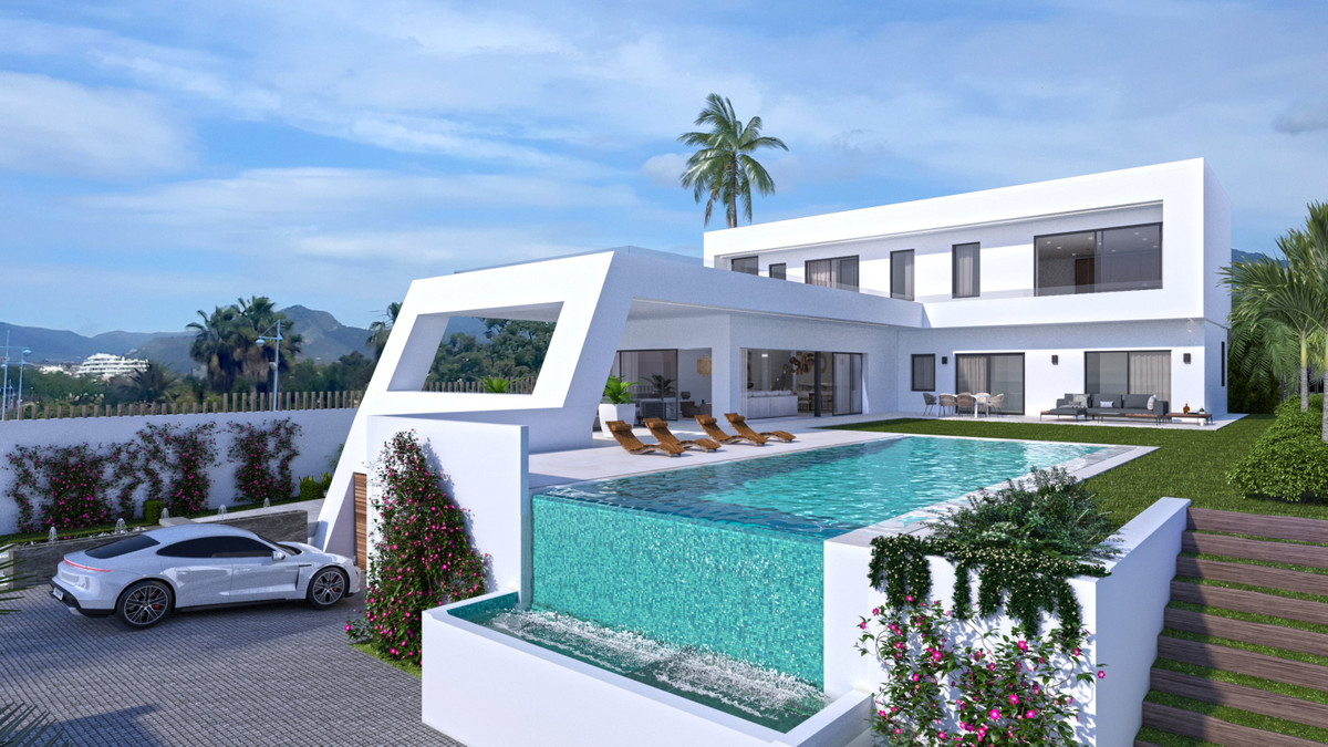 Enjoy a privileged lifestyle in this brand new contemporary villa, with high-end qualities and smart, Spain