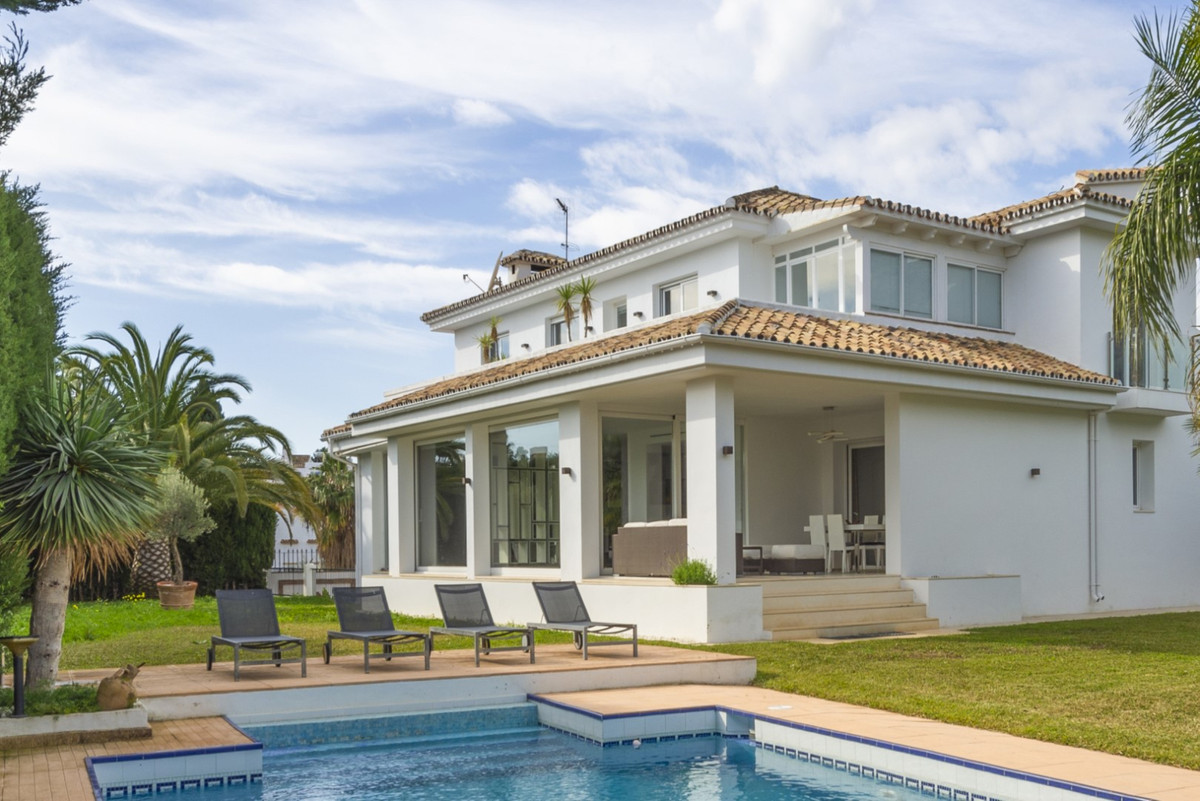Beautiful villa for sale in Marbella. This amazing property, situated in a residential area close to,Spain
