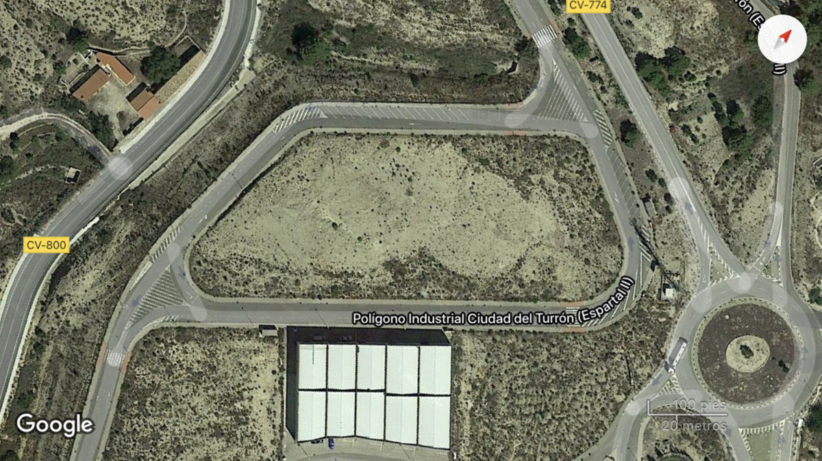 "Land in ""El Espartal"" industrial park, in Jijona (Alicante, Spain).  It has a size of 9715, Spain"