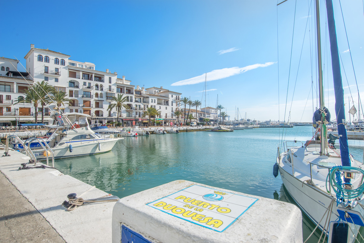 Spectacular apartment on the first line in Puerto de la Duquesa made of two apartments. This charmin,Spain