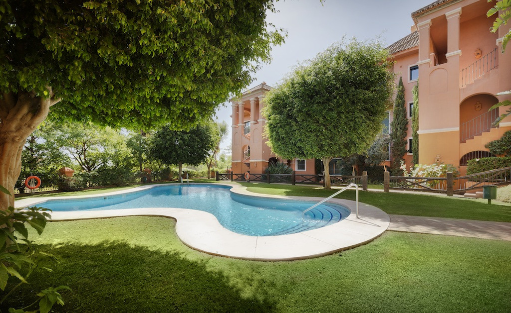 A modern luxury apartment with two bedrooms located in one of the most exclusive areas of the Costa ,Spain