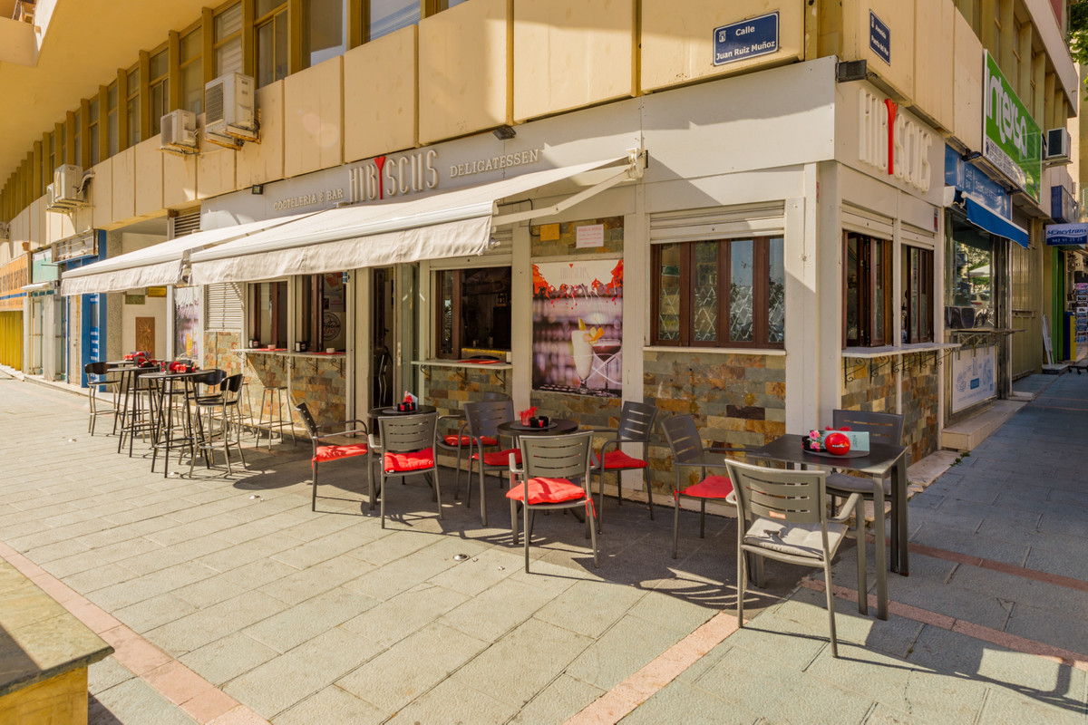 •Marbella's 2nd line Seafront. Just a few metres to the seafront.  Located at a big plaza, with,Spain