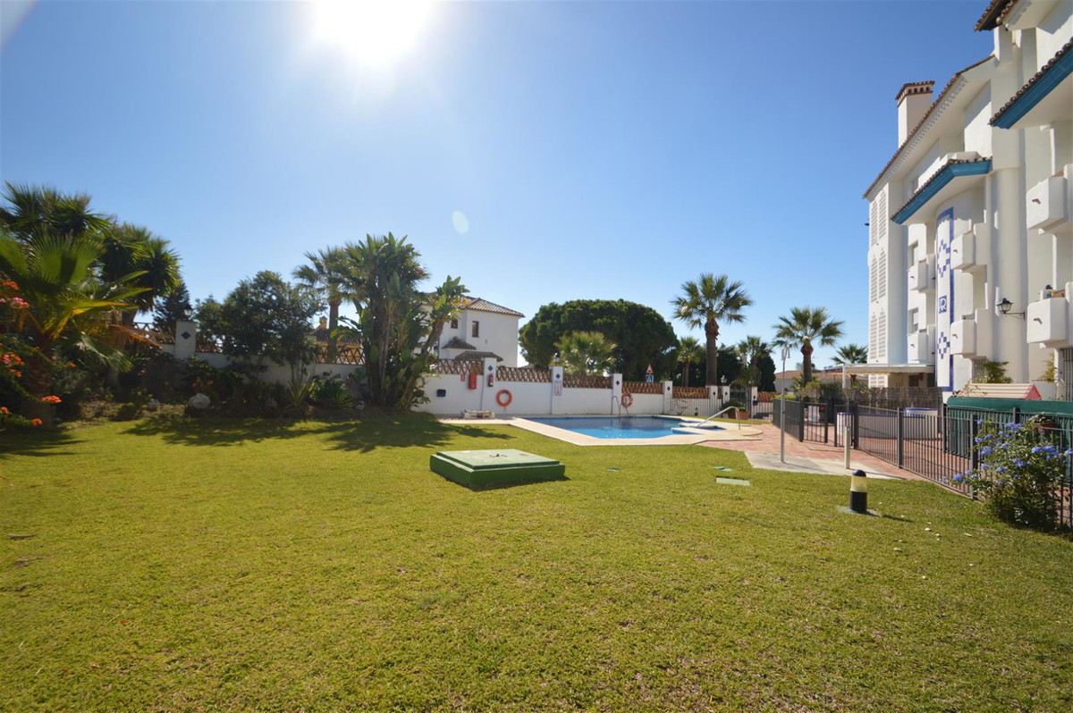 Fabulous refurbished  ground floor apartment, a few meters  from one of the best beaches in Marbella, Spain