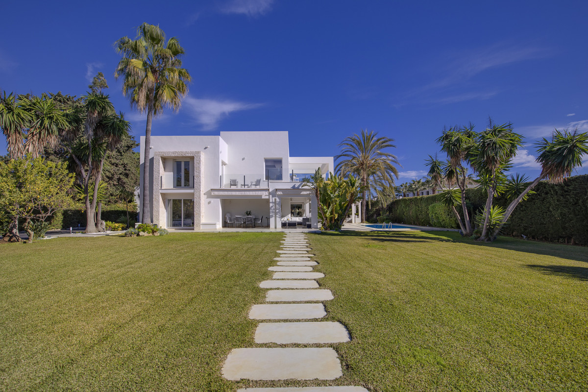 Contemporary modern style villa, located in one of the most prestigious areas of Marbella - the quie, Spain