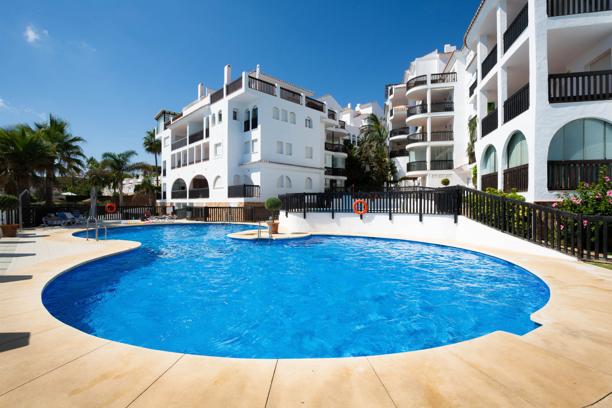 Beautiful apartment on the beachfront, consists of a large entrance, large living room with access t, Spain