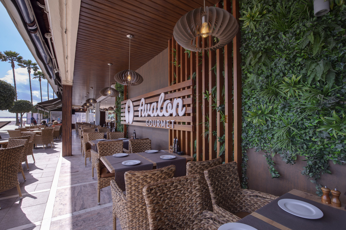 Investment opportunity: available for leasehold consolidated restaurant, located on Marbella´s prome, Spain