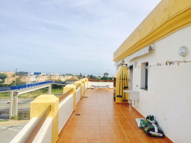 Superb penthouse with large terraces and two bedrooms, has a large living room, kitchen, a bathroom , Spain