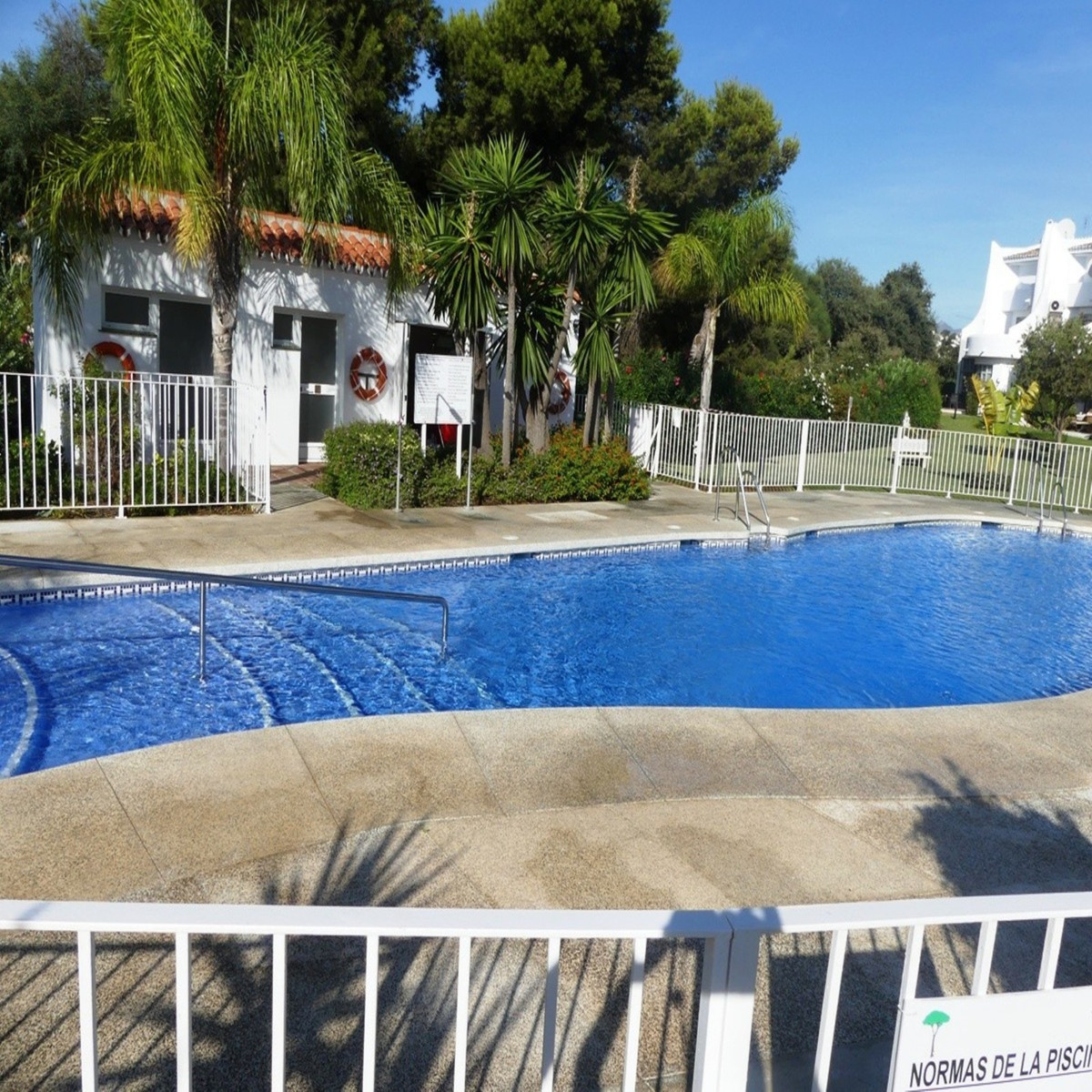 **JUST REDUCED FROM € 215000 FOR QUICK SALE **  Charming Andalucian style, ground floor beach side a, Spain