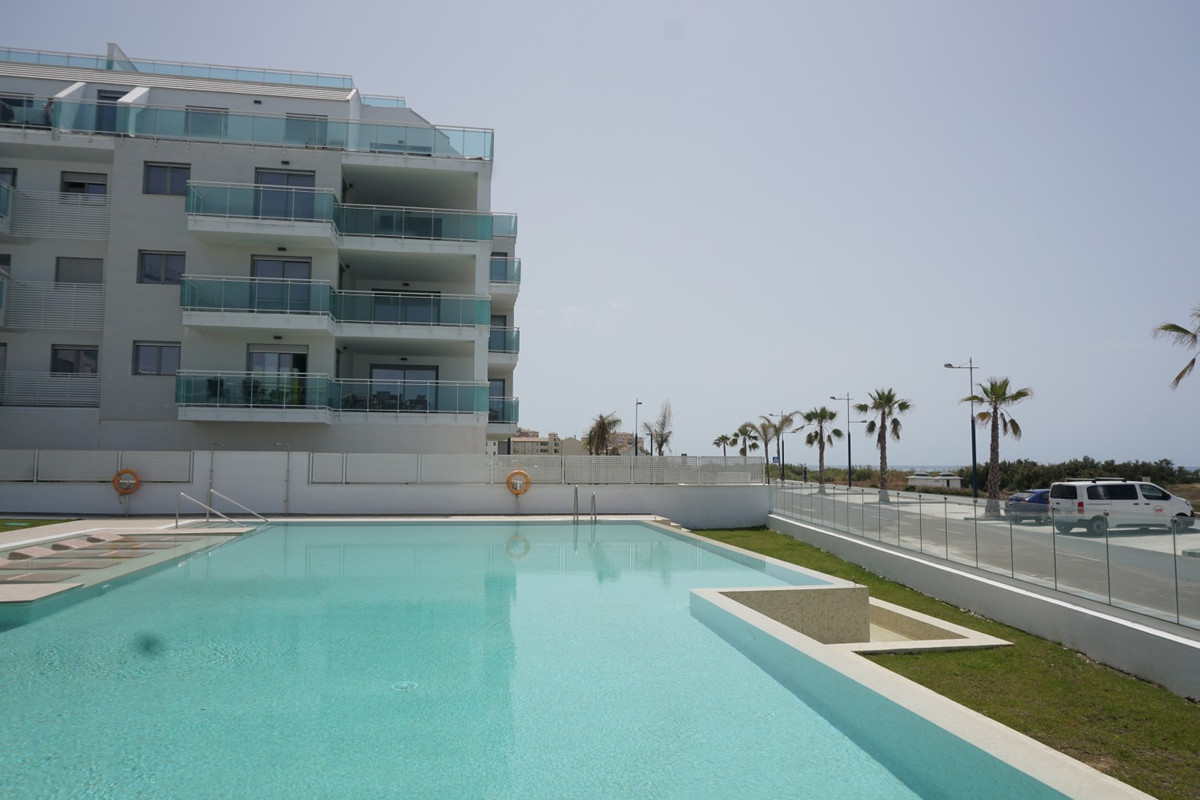 Sale, Flat, Torrox Costa , Malaga , Andalusia  Very modern brand-new apartment on the ground floor. ,Spain