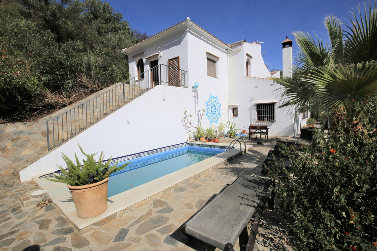 Sale, Finca, Sedella, Malaga, Andalucia Close your eyes - and think of Andalusia for a moment. What , Spain