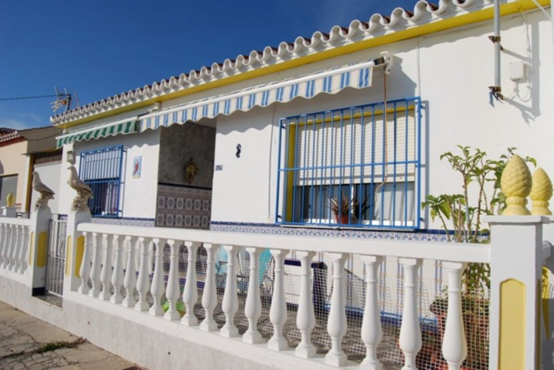 Town house with large garage and sea view,in Lagos.  This Spanish style town house is located in a q, Spain