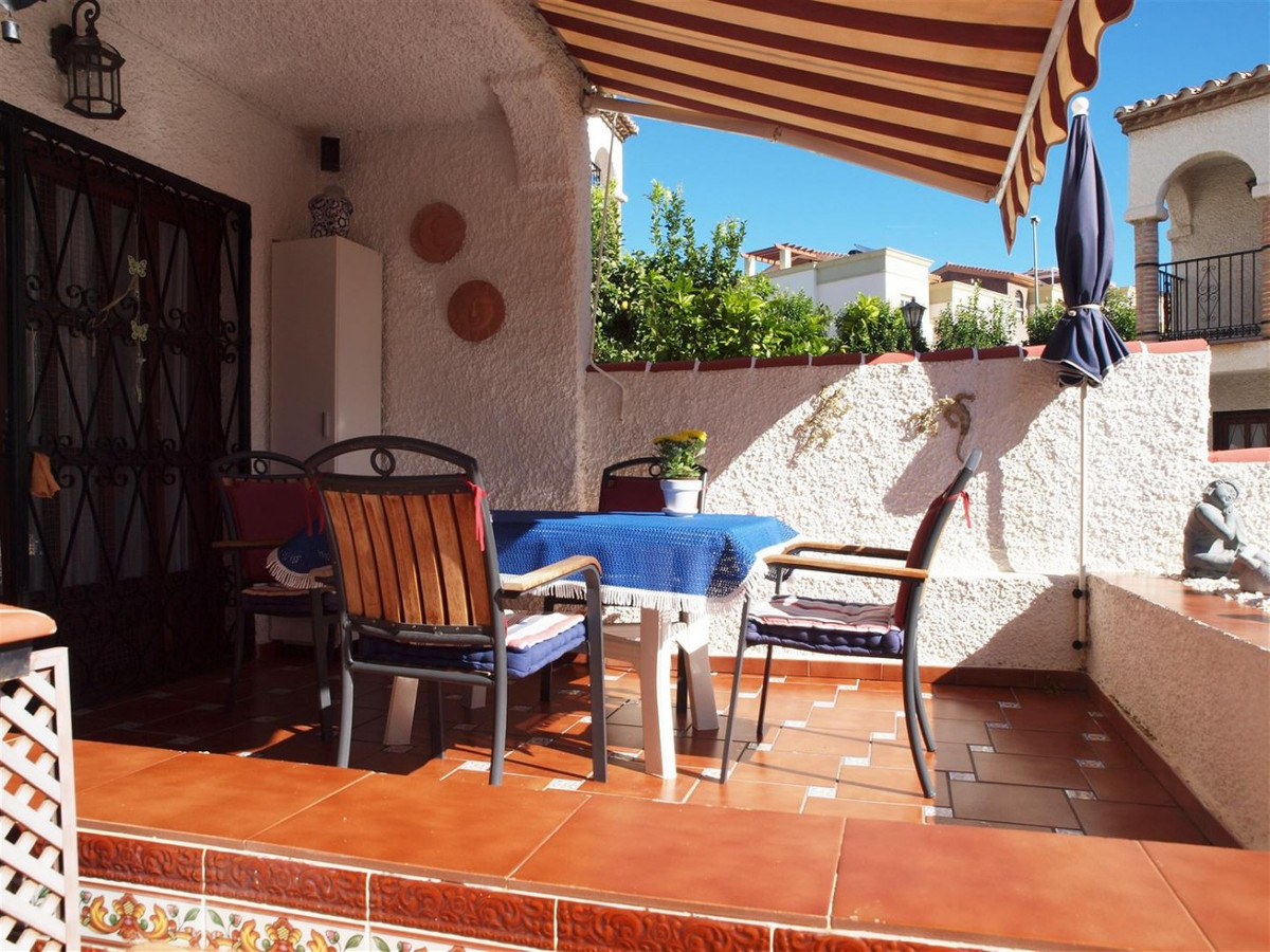 Duplex near the sea in Caleta de Velez  This House consists of a large courtyard entry with spacious, Spain