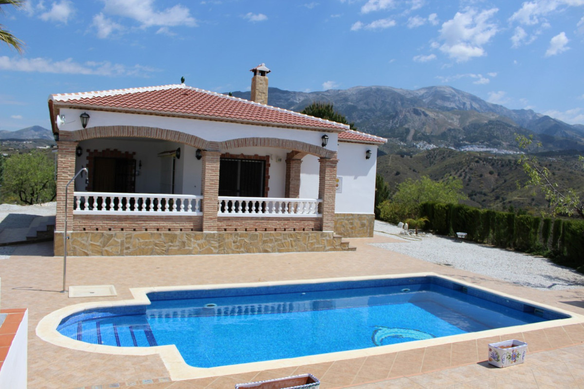 This Finca with panoramic views to the sea and the mountains consists of a spacious living room with, Spain