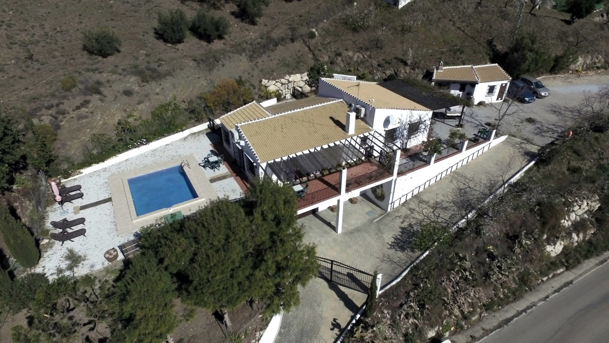 Great Finca in Sedella. The property has incredible views of the mountains and surrounding, has a pl,Spain