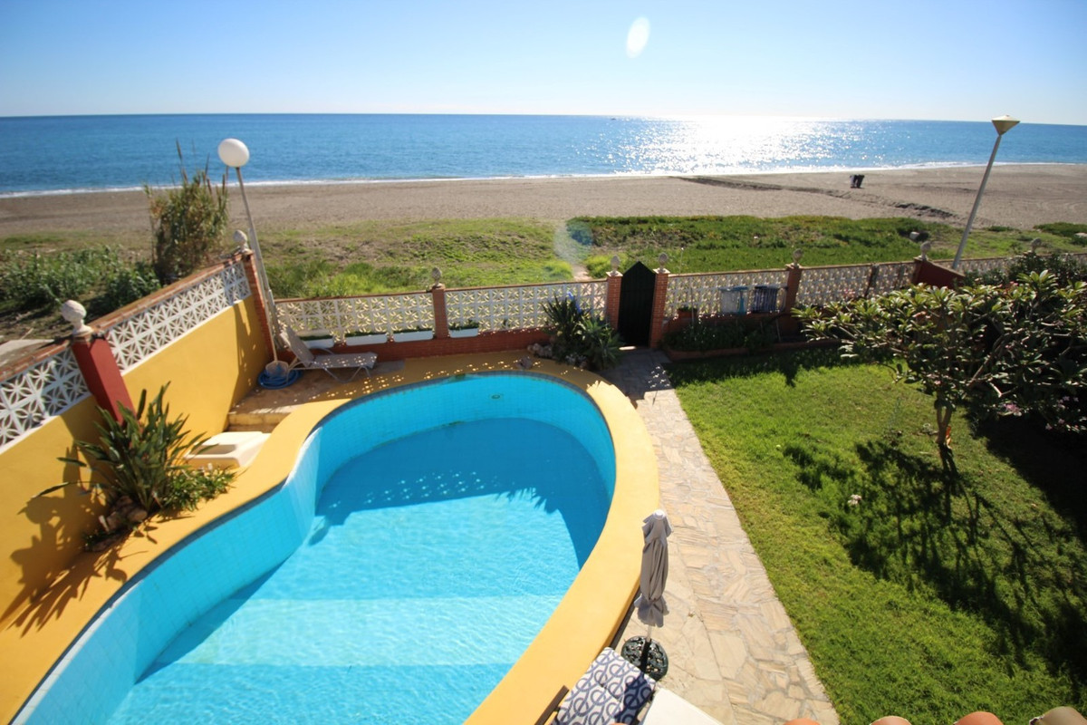 Fantastic Villa in Benajarafe, on beachfront. The villa has a spacious living room and dining room w,Spain