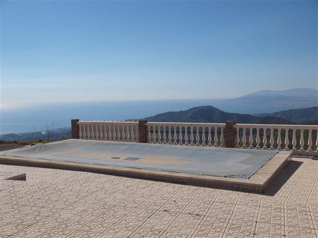 Beautiful Villa just 12 km away from the beach and 1 km from the village, with magnificent views to , Spain