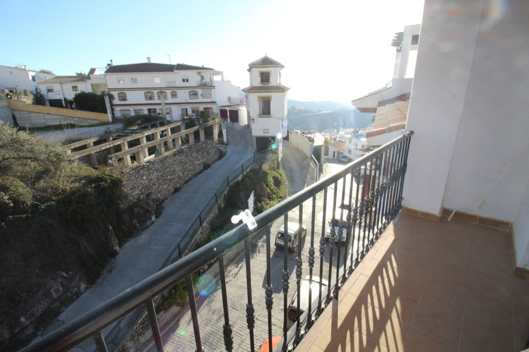 Nice apartment overlooking the sea in Competa, consists of a living/dining room with access to a ter,Spain