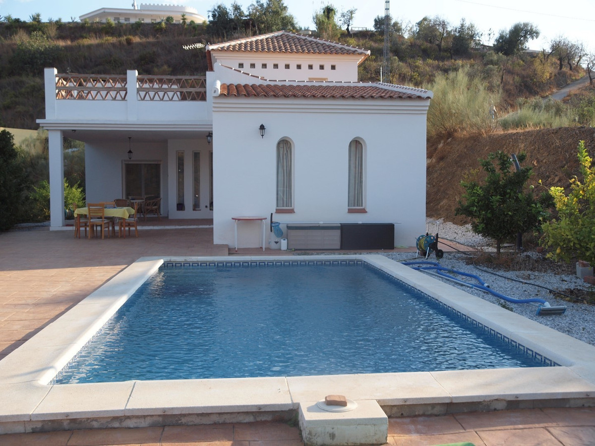 Beautiful large finca in Sedella with sensational views of the surrounding mountains. It consists of,Spain