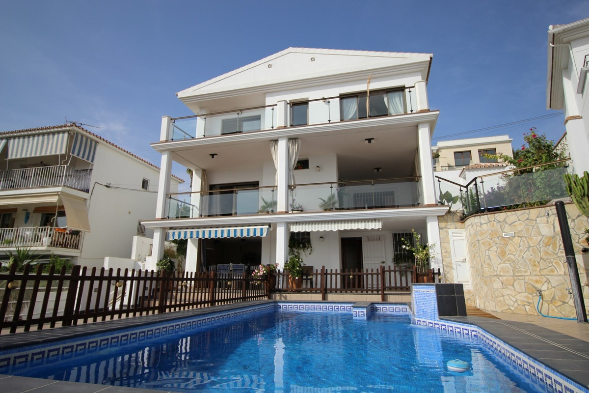 Spectacular Villa with four plants in La Cala del Moral. On the main floor is a living room with acc,Spain