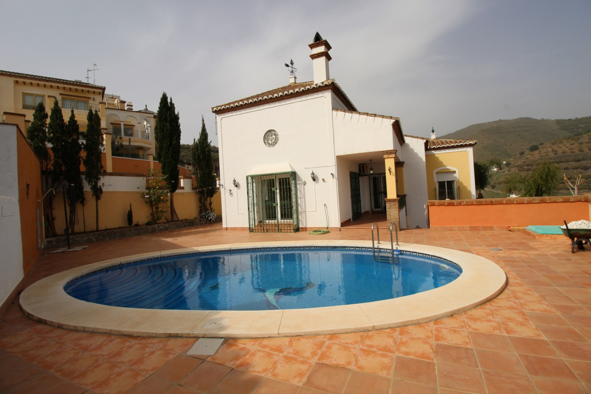 Wonderful Villa in Torrox Costa with views to the mountains and the sea, is divided into two floors.,Spain