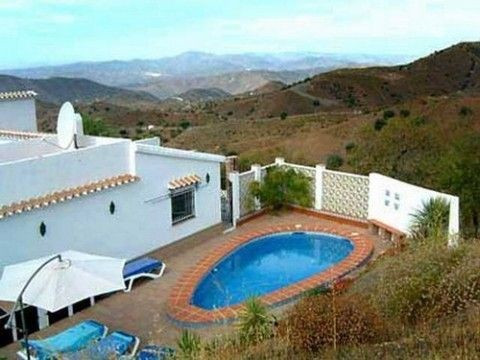 Lovely Villa with magnificent panoramic views, ff kitchen, fixed wardrobes, oil central heating, ope, Spain