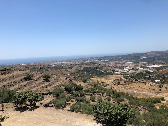 RESERVED    Super rustic plot of 513 m2 with panoramic views to the sea.  The plot is fenced and the, Spain