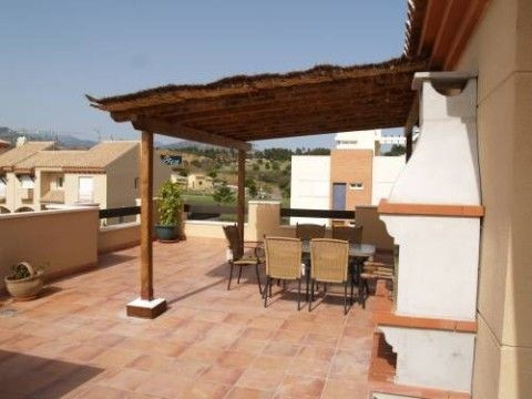 Beautiful Penthouse in Baviera Golf with spectacular sea & mountain views, very well furnished, ,Spain