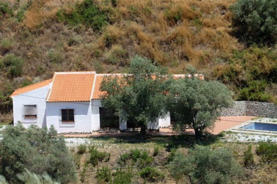 Beautiful new built villa with wonderful panoramic views, only 15 min. from the village and 30 minut, Spain