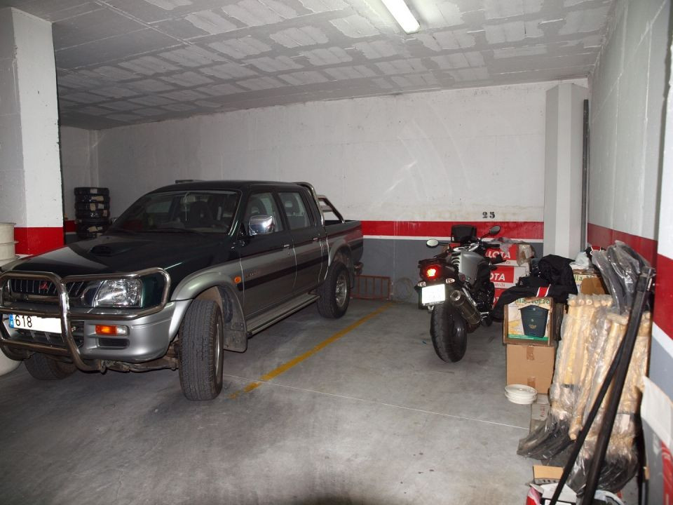Three parking places consecutive in closed garage of Algarrobo of 9 M2 each., Spain