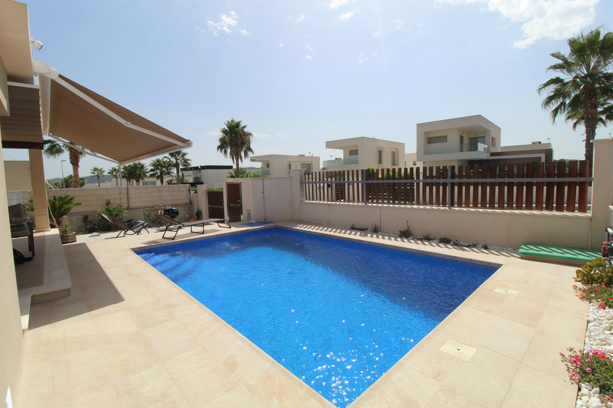 3 Bedroom Contemporary Villa with Swimming Pool in Vista Bella Golf, Orihuela Costa  The golf resort, Spain