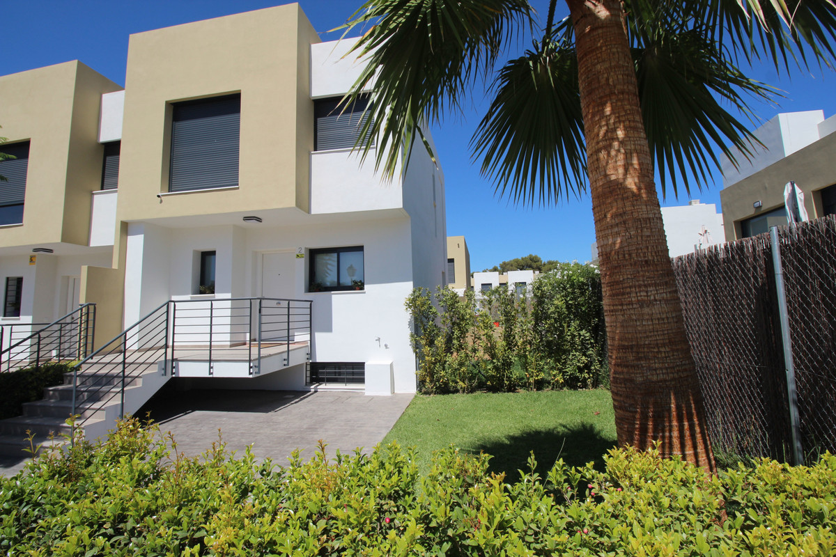 3 Bedroom Furnished Townhouses in the Family-Friendly Complex in Alhaurin de la Torre Key ready town,Spain