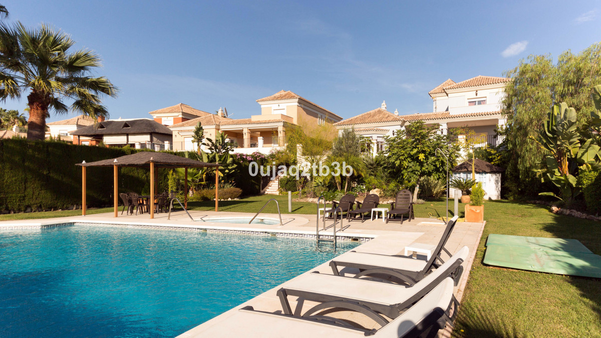 Unique independent villa in Santa Clara with astonishing sea and golf views. Front line golf villa w, Spain