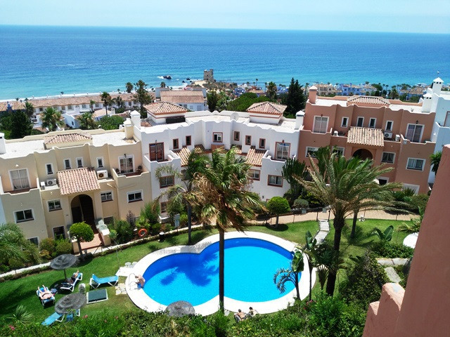 Appartement  Penthouse 													en vente  																			 à Casares Playa