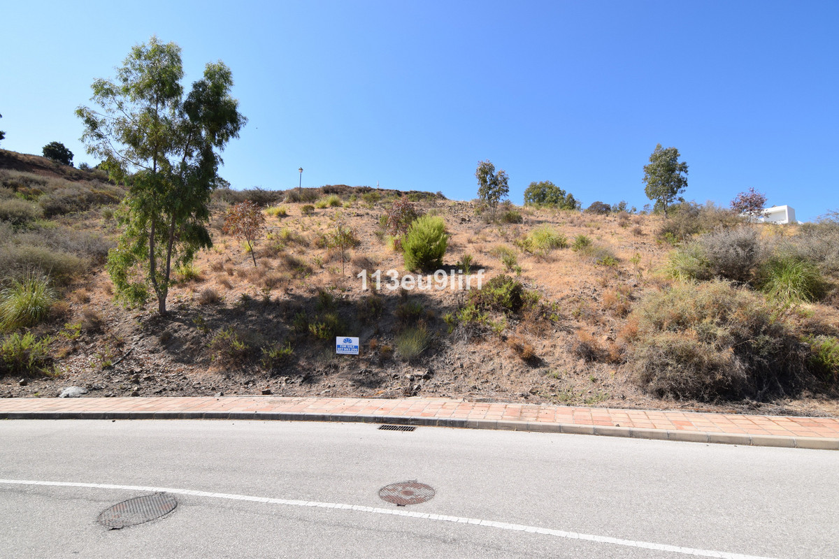 Residential plot offering panoramic mountain and golf views located within La Cala Golf Resort with ,Spain