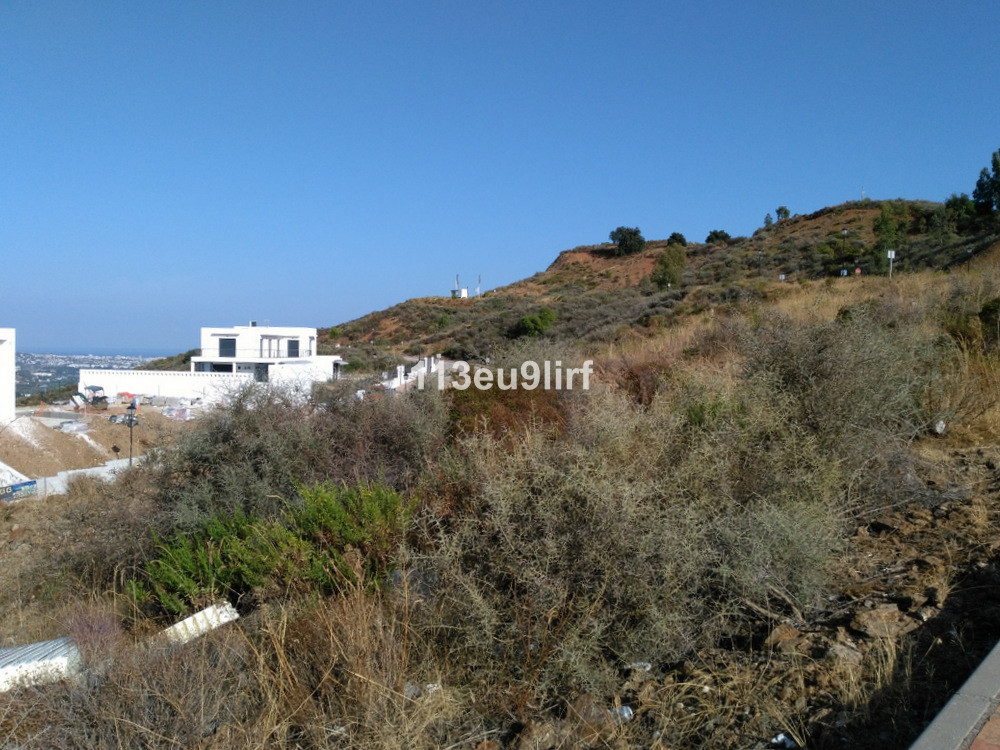 Residential plot offering panoramic sea, mountain and golf views located within La Cala Golf Resort ,Spain