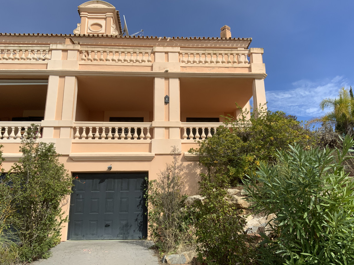Lovely, semi detached villa with private pool and gardens in the gated community of SOTOGOLF. The pr,Spain