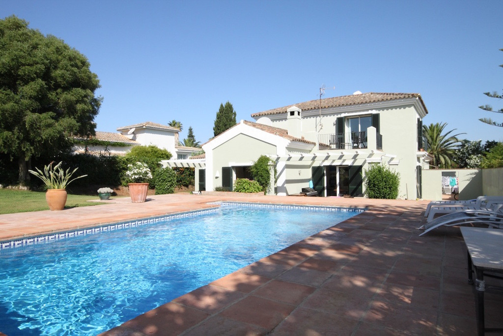 This immaculate four bedroom family villa is located in Sotogrande Costa close to all the amenities , Spain