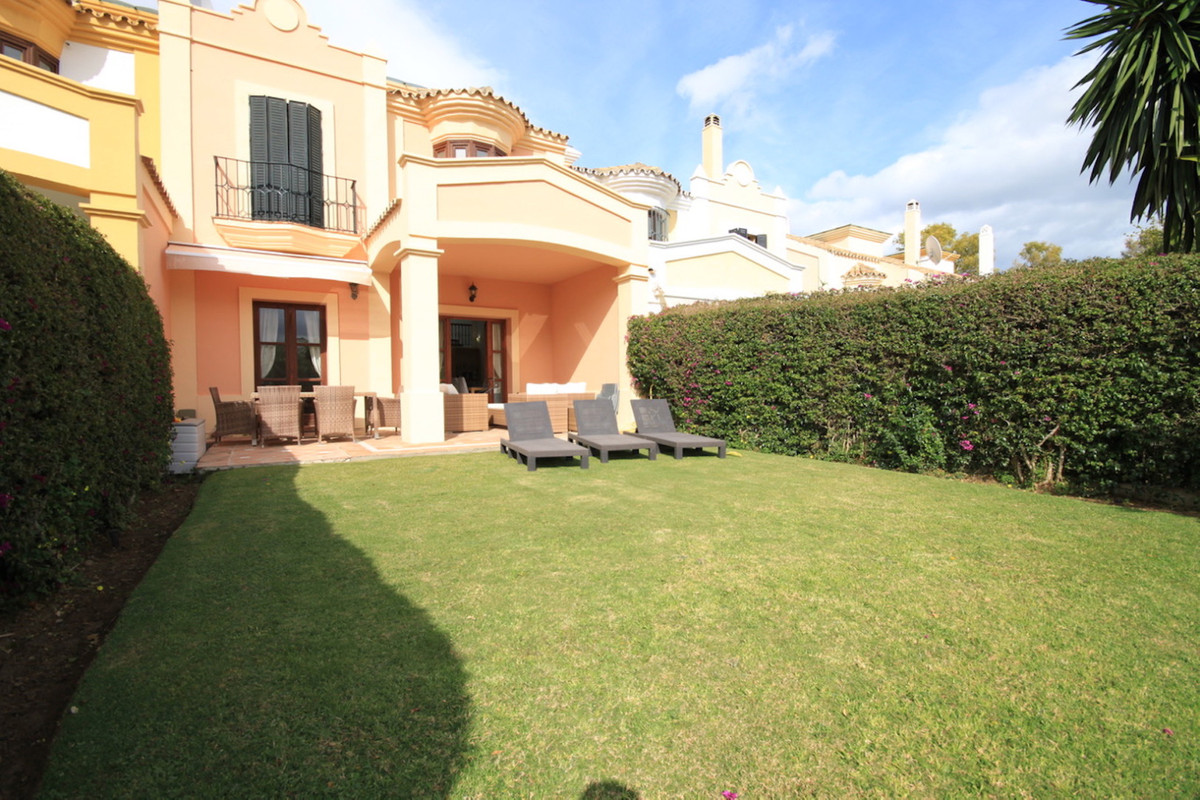 A fabulous townhouse located in Isla de Guadalmina, a very private gated urbanisations close to the , Spain