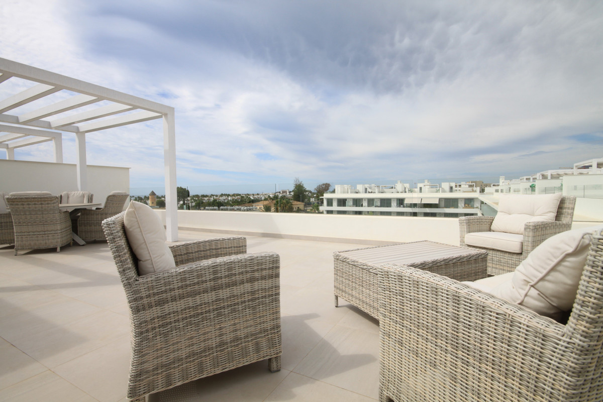 Situated in a recently completed, popular development in Bel Air, Estepona, this modern 4 bedroom pe, Spain