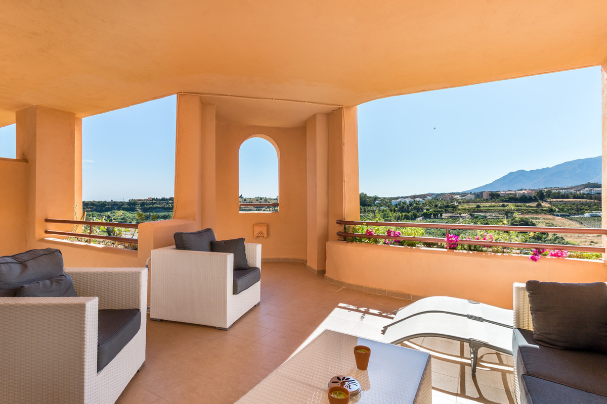 This lovely two bedroom, two bathroom apartment is located in a peaceful urbanisation just north of , Spain