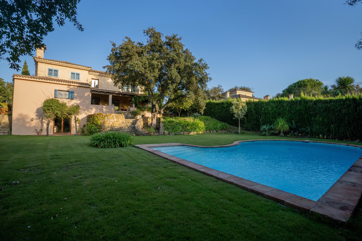 A truly beautiful, country style family home located in Sotogrande Alto with 5 bedrooms and 3 bathro, Spain