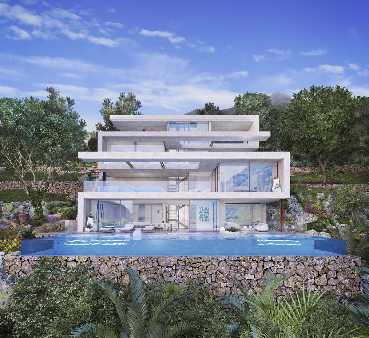 New Development: Prices from € 1,690,000 to € 1,690,000. [Beds: 4 - 4] [, Spain