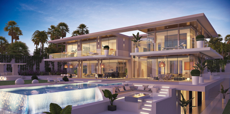 Villas for sale in Estepona (New Golden Mile) 1