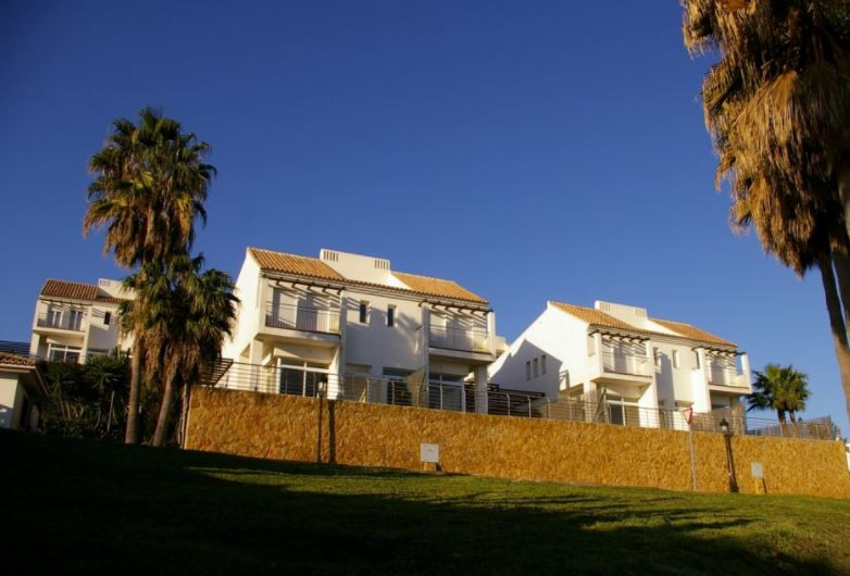Townhouse with private garden and sea views  The house is built to a very high standard and is ideal,Spain