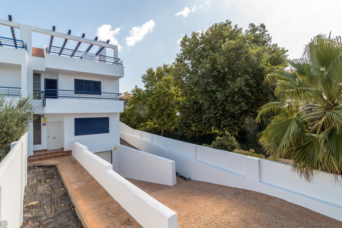 Great corner house close to the wonderful beach.  This house offers a lot of space and has a large g, Spain